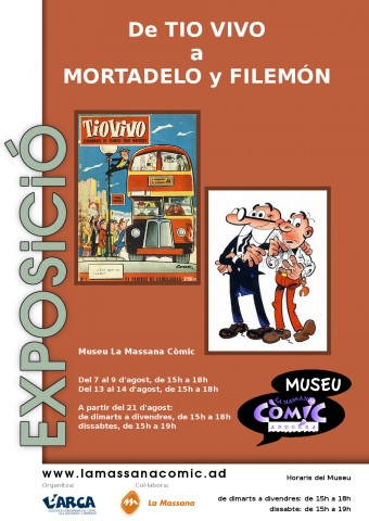 De TIO VIVO a MORTADELO y FILEMÓN
