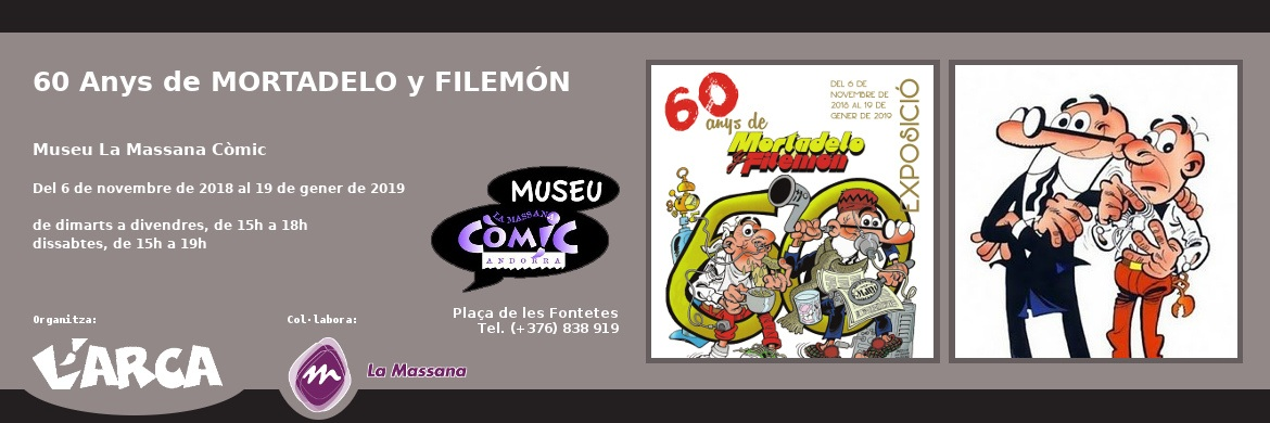 60 Anys de MORTADELO y FILEMÓN